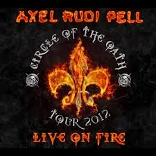 cover axel rudi pell live on fire