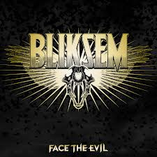 cover bliksem face the evil
