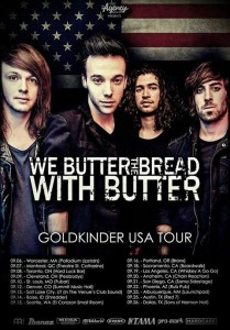 we butter the bread