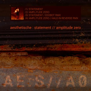 aesthetische-statementAmplitude0 COVER ARTWORK