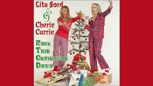 cover Lita Ford & Cherie Currie-Rock this Christmas down