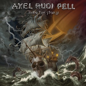 AXEL RUDI PELL into the storm PRINT