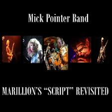 cover mick pointer band marillions script revisited