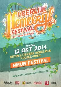 Heerlijk Hemelrijk Festival poster