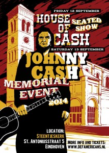flyer Johnny Cash Memorial 2014