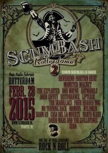 ScumBash 2015 poster