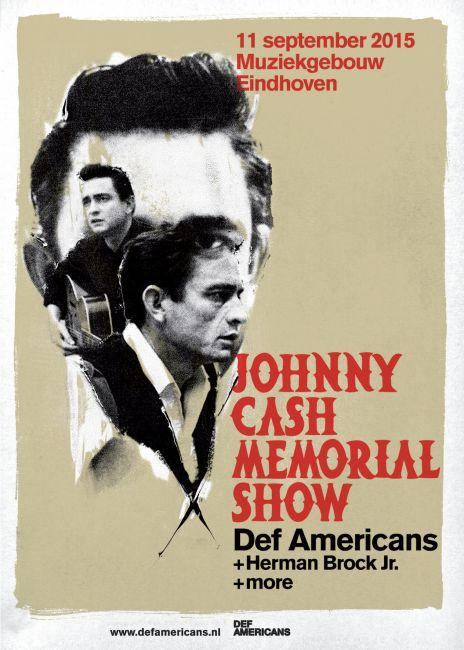 flyer Johnny Cash Memorial Show 2015