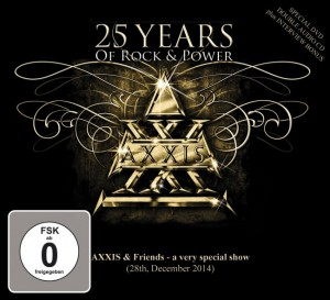 AXXIS-25_years_of_Rock_&_Power_Cover