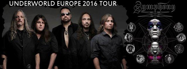 cover symphony x european tour 2016