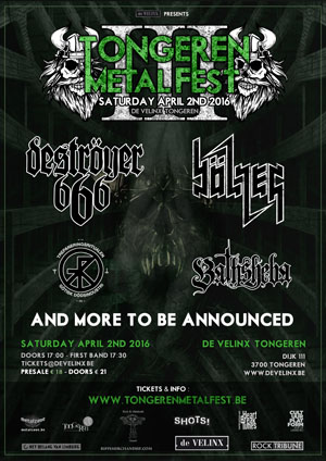 Tongeren Metal Fest 2016