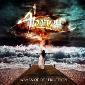 Alarion - ALBUM COVER - Waves of Destruction