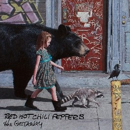 cover The red hot chili peppers the getaway