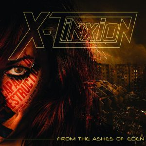 Coverart X-Tinxion - From The Ashes Of Eden 2500