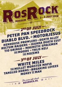 Rosrock line up