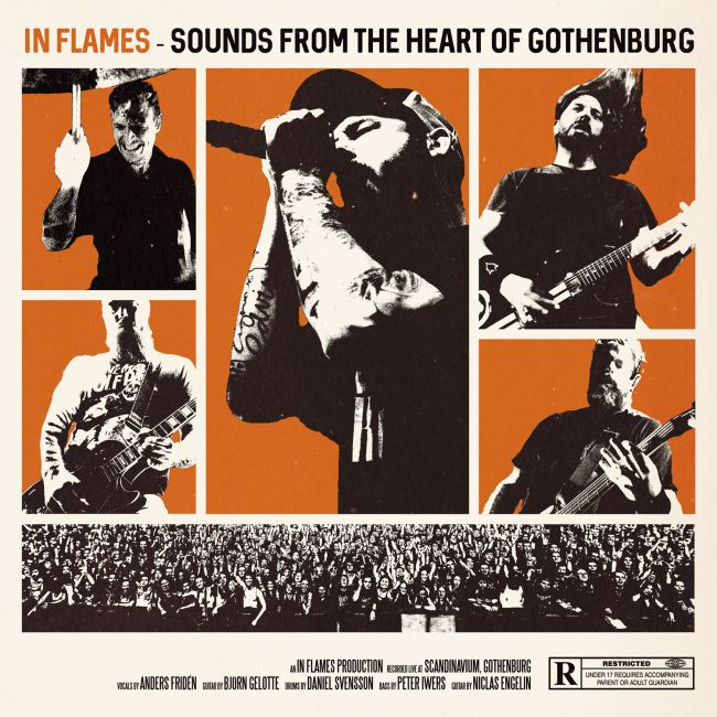 In Flames - Sounds From The Heart Of Gothenburg - Artwork