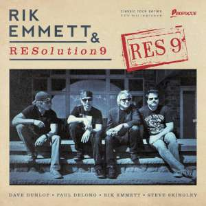 Rik Emmett & RESolution9 - RES9 cover