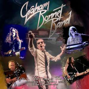 Graham Bonnet Band - Live... Here Comes The Night cover