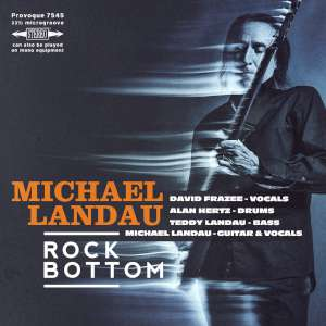 Michael Landau - Rock Bottom cover