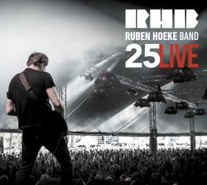 Ruben Hoeke Band - 25 Live cover