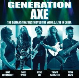 Generation Axe - The Guitars That Destroyed The World - Live In China cover