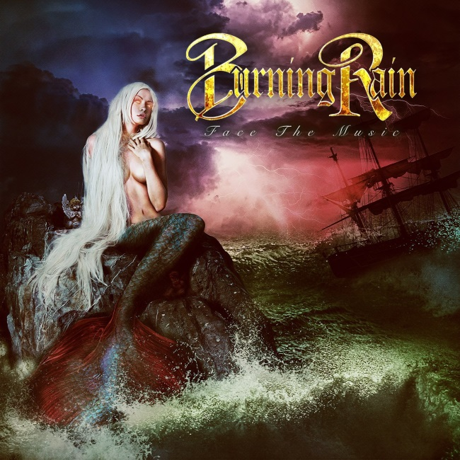 Burning Rain - Face The Music cover