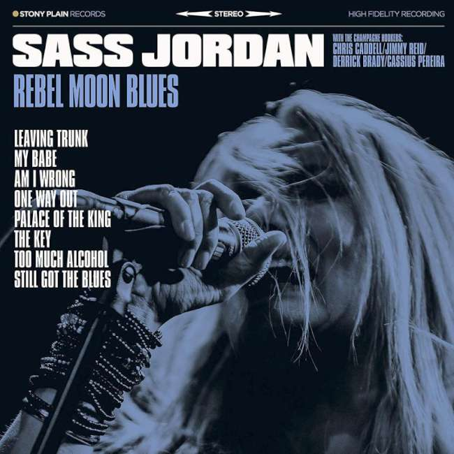 Sass Jordan - Rebel Moon Blues cover