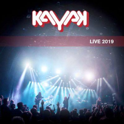 Kayak - Live 2019 cover