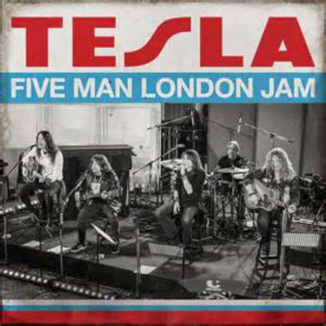 Tesla - Five Man London Jam cover