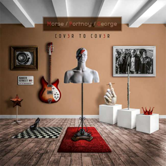 Morse Portnoy George - Cov3r To Cov3r cover