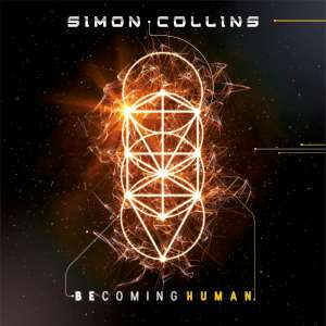 Simon Collins - Becoming Human cover