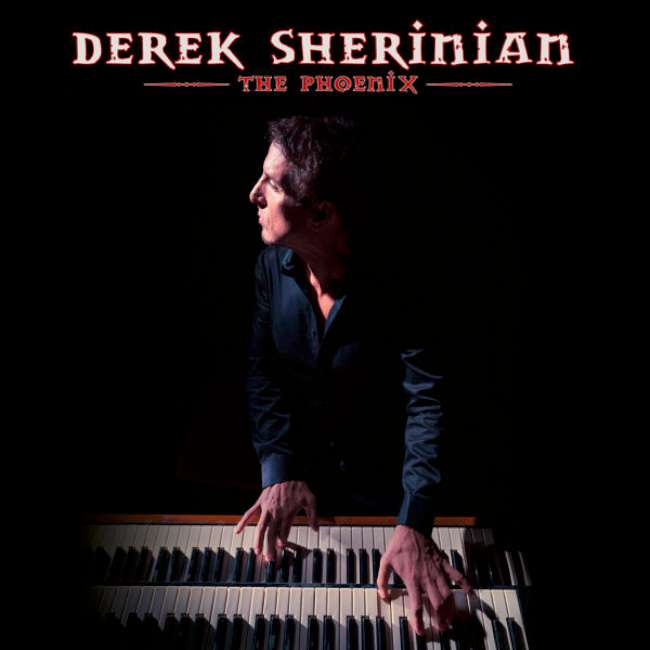 Derek Sherinian - The Phoenix cover